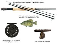TFO Panfish 4 Wt./8 Foot Fly Fishing Outfit